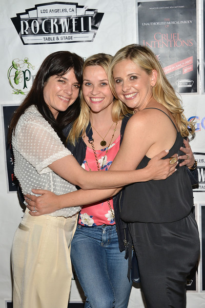 Selma Blair, Reese Witherspoon And Sarah Michelle Gellar Attend The Unauthorized Musical Parody Of Cruel Intentions 13