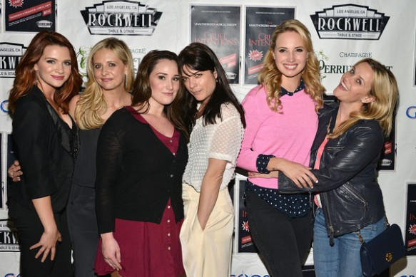 Selma Blair, Reese Witherspoon And Sarah Michelle Gellar Attend The Unauthorized Musical Parody Of Cruel Intentions 2