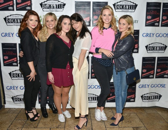 Selma Blair, Reese Witherspoon And Sarah Michelle Gellar Attend The Unauthorized Musical Parody Of Cruel Intentions 3