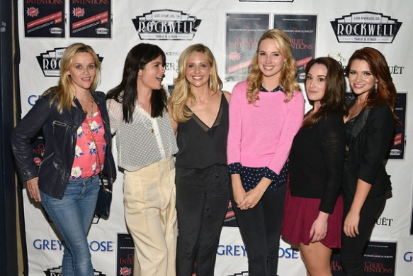 Selma Blair, Reese Witherspoon And Sarah Michelle Gellar Attend The Unauthorized Musical Parody Of Cruel Intentions 4