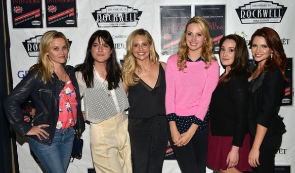 Selma Blair, Reese Witherspoon And Sarah Michelle Gellar Attend The Unauthorized Musical Parody Of Cruel Intentions 5