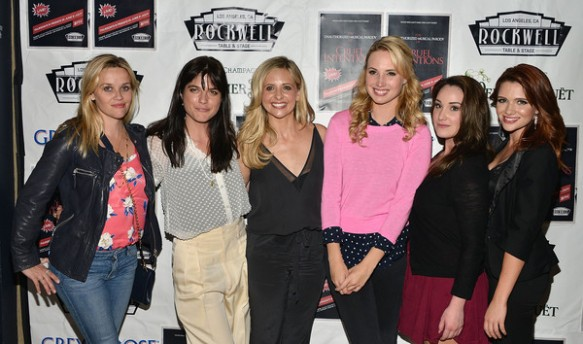 Selma Blair, Reese Witherspoon And Sarah Michelle Gellar Attend The Unauthorized Musical Parody Of Cruel Intentions 7