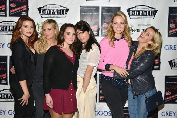 Selma Blair, Reese Witherspoon And Sarah Michelle Gellar Attend The Unauthorized Musical Parody Of Cruel Intentions 9