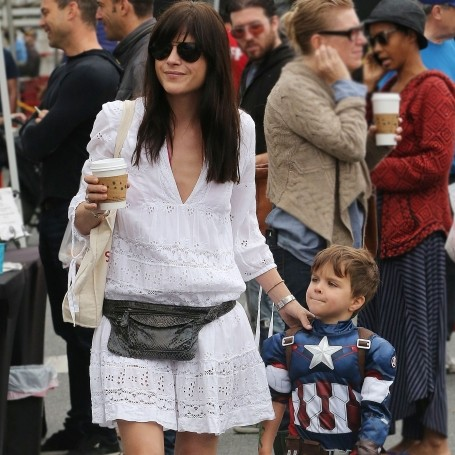 Selma Blair and Captain America Arthur 1