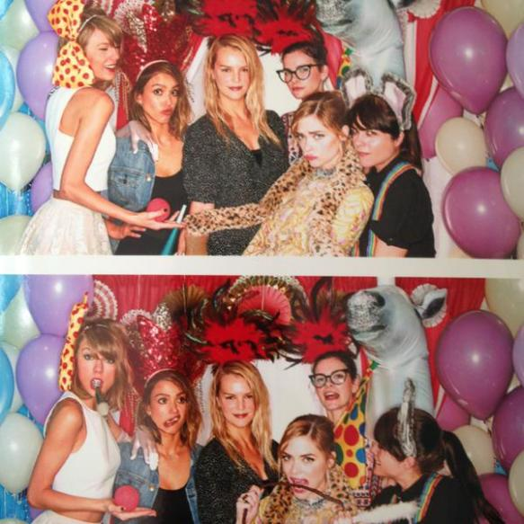 Selma Blair at Taylor Swift's baby shower for Jaime King 1