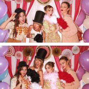 Selma Blair at Taylor Swift's baby shower for Jaime King 2