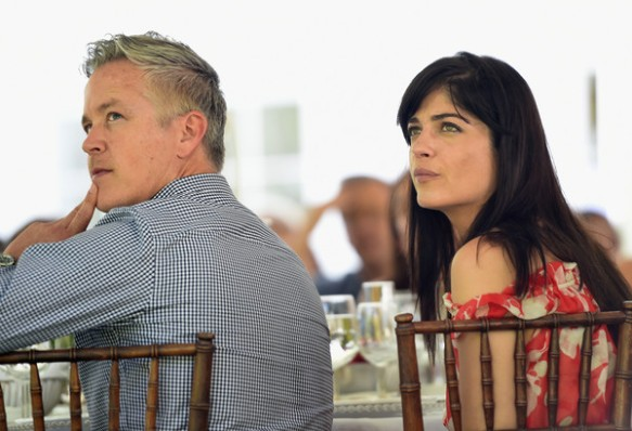 Selma Blair at the Cure Batten tea party benefit in Brentwood