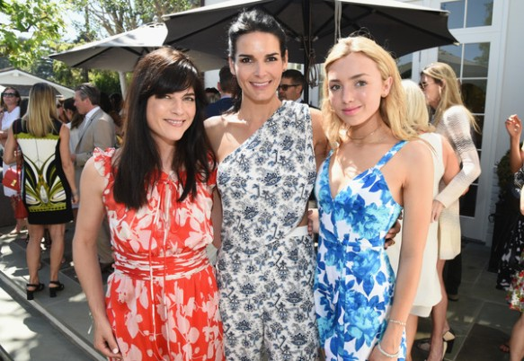 Selma Blair attends tea party to support the Charlotte and Gwenyth Gray Foundation