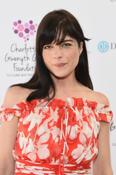 Selma Blair looking stunning in vintage Valentino at Cure Batten benefit