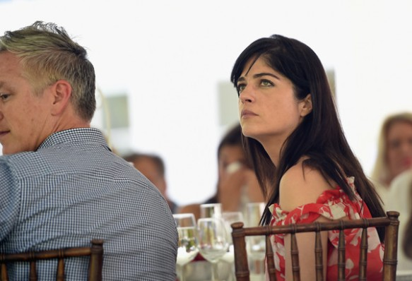 Selma Blair shed tears while listening to speeches about Batten disease