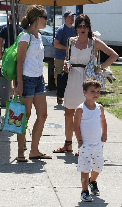 Selma Blair and her big cutie 5