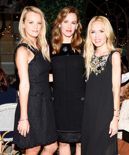Kelly Sawyer, Jennifer Garner, Rachel Zoe