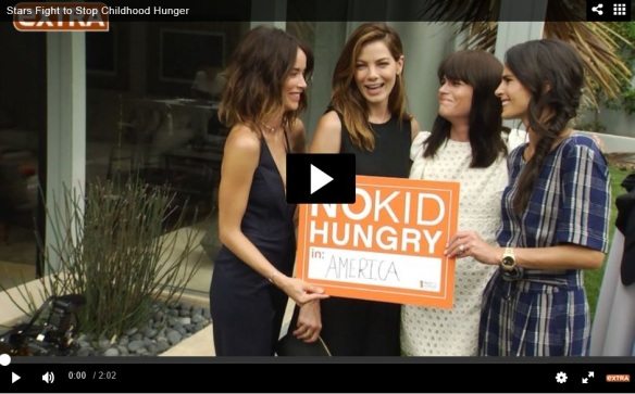Stars Fight to Stop Childhood Hunger Selma Blair No Kid Hungry Interview