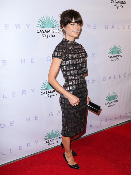 Selma Blair Arrives At Brian Bowen Smith's Metallic Life Exhibit 1