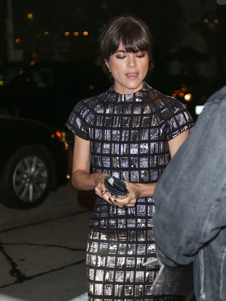 Selma Blair Arrives At Brian Bowen Smith's Metallic Life Exhibit 13