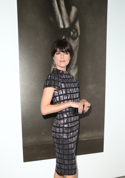 Selma Blair Arrives At Brian Bowen Smith's Metallic Life Exhibit 19