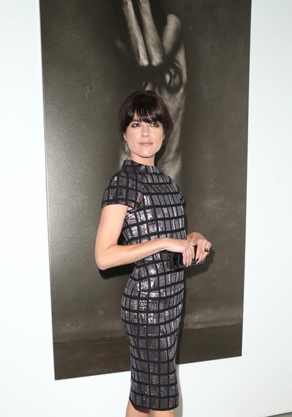 Selma Blair Arrives At Brian Bowen Smith's Metallic Life Exhibit 19