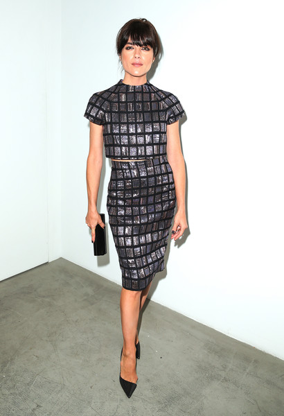 Selma Blair Arrives At Brian Bowen Smith's Metallic Life Exhibit 20
