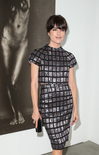 Selma Blair Arrives At Brian Bowen Smith's Metallic Life Exhibit 21