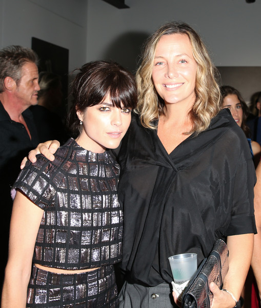 Selma Blair Arrives At Brian Bowen Smith's Metallic Life Exhibit 22