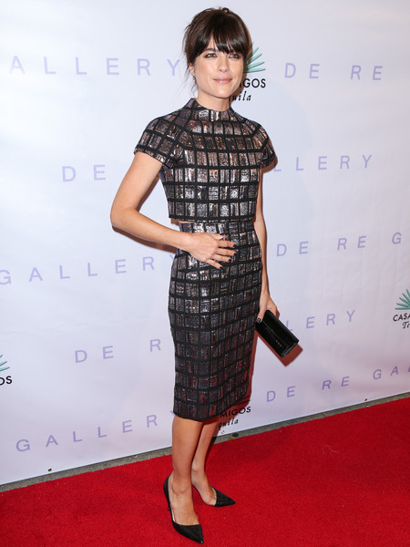 Selma Blair Arrives At Brian Bowen Smith's Metallic Life Exhibit 3