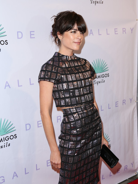 Selma Blair Arrives At Brian Bowen Smith's Metallic Life Exhibit 7