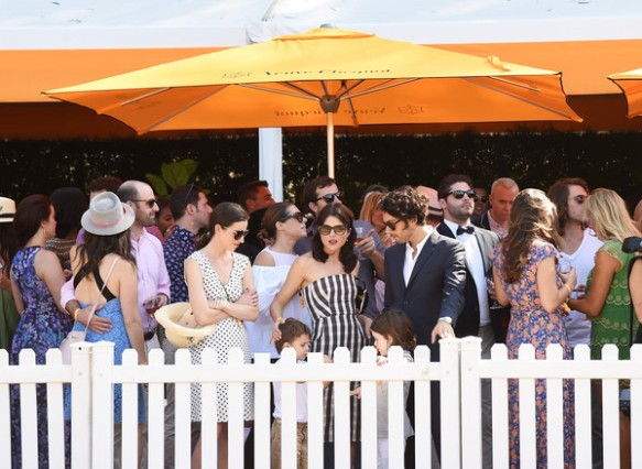 Selma Blair arrives at the Sixth-Annual Veuve Clicquot Polo Classic at Will Rogers State Historic Park. 10