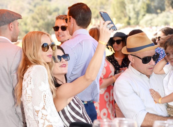 Selma Blair arrives at the Sixth-Annual Veuve Clicquot Polo Classic at Will Rogers State Historic Park. 15