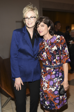 Jane Lynch and Selma Blair