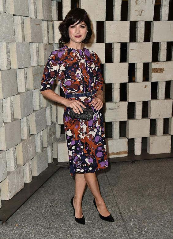 Selma Blair looking stunning in Bottega Veneta 2