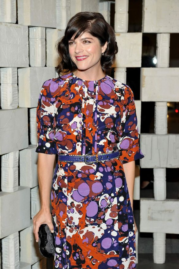 Selma Blair looking stunning in Bottega Veneta