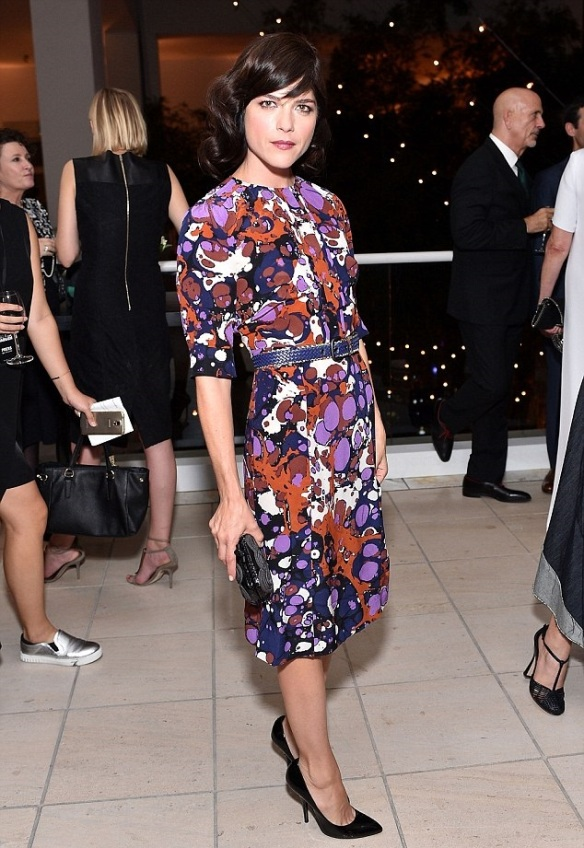 Selma Blair Sensational in Bottega Veneta 2