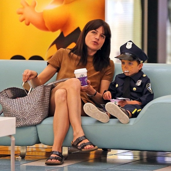 Selma Blair and officer Arthur 2