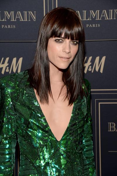 Selma Blair attends Balmain for H&M pre-launch 1