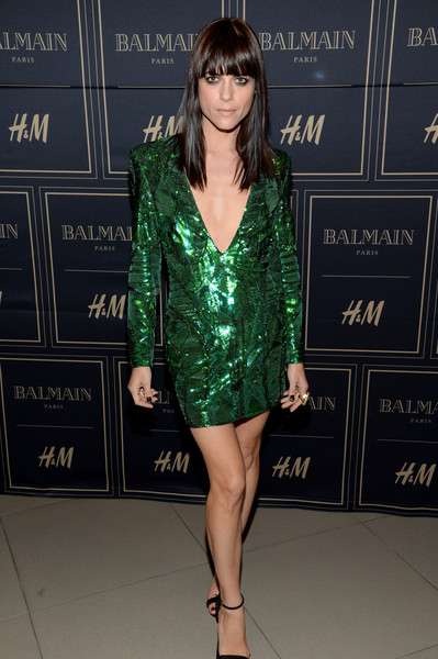 Selma Blair attends Balmain for H&M pre-launch 11