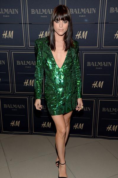 Selma Blair attends Balmain for H&M pre-launch 11