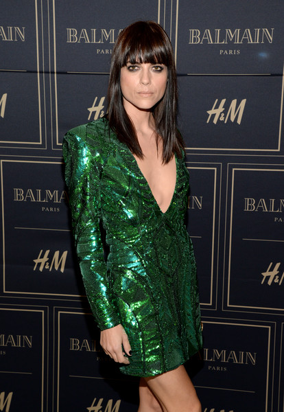 Selma Blair attends Balmain for H&M pre-launch 12