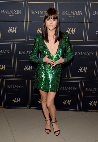Selma Blair attends Balmain for H&M pre-launch 2