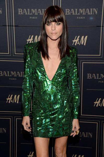 Selma Blair attends Balmain for H&M pre-launch 3