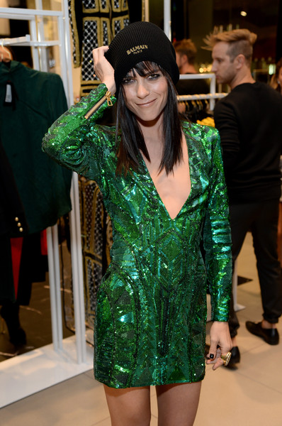 Selma Blair attends Balmain for H&M pre-launch 6