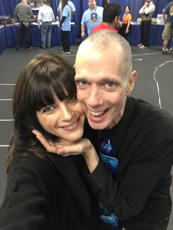 Selma Blair & Doug Jones at comic-con 1