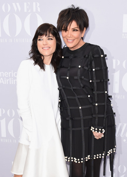 Selma Blair and Kris Kardashian on red carpet at Hollywood Reporter event 1