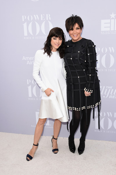 Selma Blair and Kris Kardashian on red carpet at Hollywood Reporter event 3
