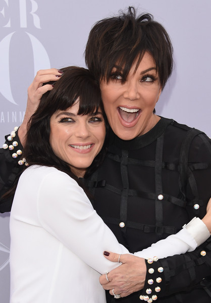 Selma Blair and Kris Kardashian on red carpet at Hollywood Reporter event 4