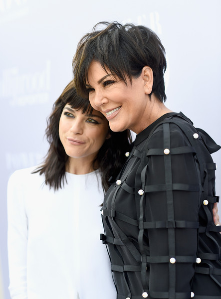 Selma Blair and Kris Kardashian on red carpet at Hollywood Reporter event 6