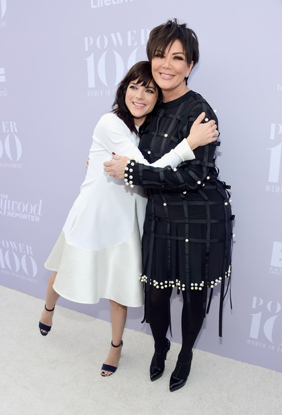 Selma Blair and Kris Kardashian on red carpet at Hollywood Reporter event 7