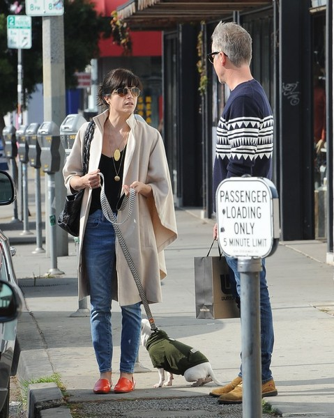 Selma Blair And Her Doggie Ducky 15