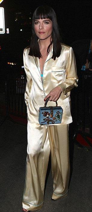 Selma Blair Pajama Party at Chateau Marmont 4
