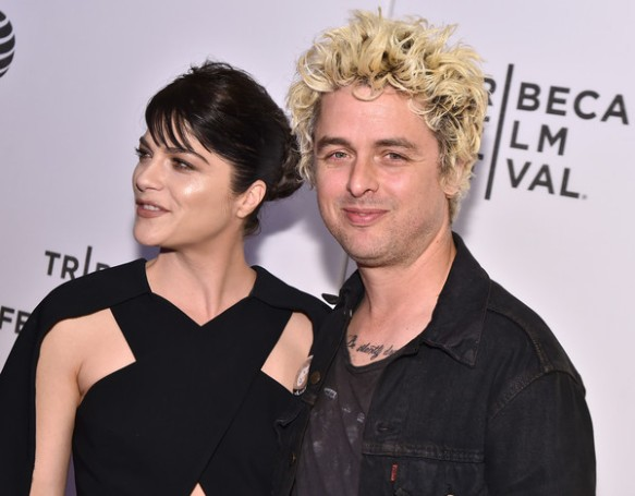 Selma Blair Billie Joe Armstong Red Carpet Tribeca Film Festival 2016 1