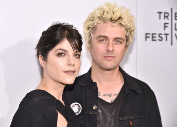 Selma Blair Billie Joe Armstong Red Carpet Tribeca Film Festival 2016 10